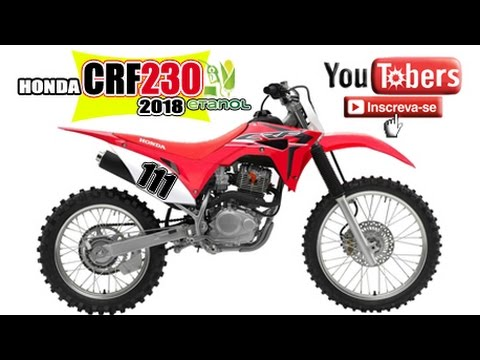 Teste nova crf 230 2017 carburador koso no etanol piloto for Ecksofa 230 x 230