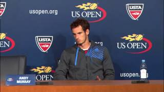 2013 US Open: Andy Murray Press Conference