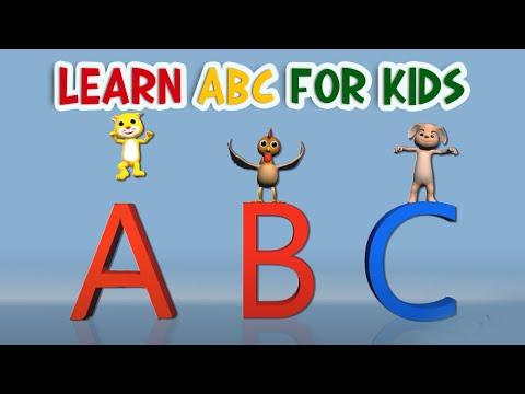 ABC Song Nursery Rhymes for Babies   YouTube Nursery Rhymes from Kachy TV - Kids Songs
