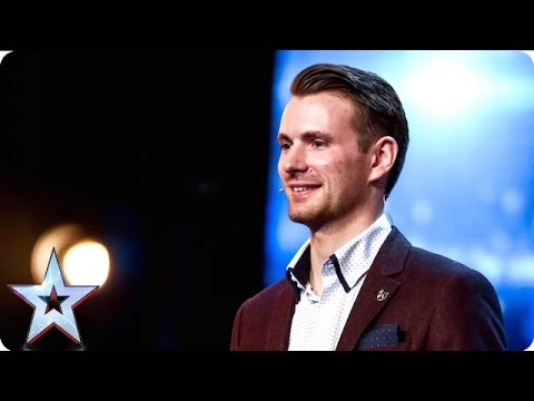 Soldier Richard has a magical gift for the Judges | Week 2 Auditions | Britain's Got Talent 2016
