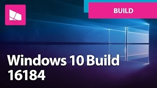 Windows 10 Build 16184 - My People, UI Enhancements + MORE