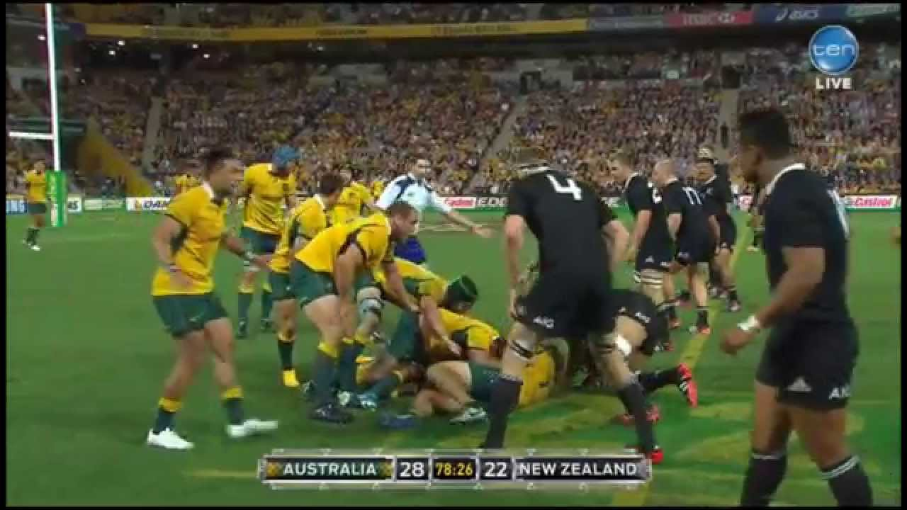 Last 6 Minutes All Blacks Wallabies Bledisloe Cup 2014 Youtube