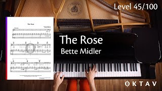 The Rose by Bette Midler (Piano Solo)