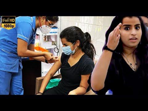 ஊசினா அவ்வளவு பயம் எனக்கு.., Corona Vaccine போட்டுக்கொண்ட Sivangi..!   COVID-19   Tamil Nadu   Viral