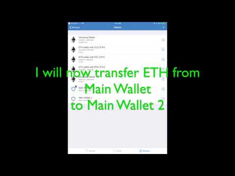 How to Transfer Funds between Wallets with Trust