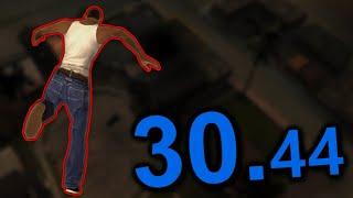GTA SA Speedrun (Official World Record)