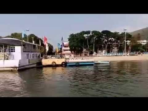 Andhar Capital City's Bhavani Island-Vijayawada-Come to See-Position as on 22.10.2016