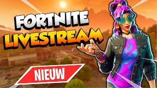 NIEUWE SYNTH STAR SKIN ( Fortnite Battle Royale Livestream - France Nederlands