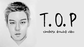 T.O.P - Graphite Pencil Drawing