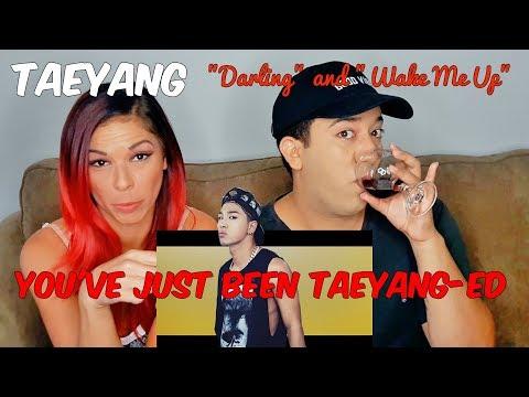 "TAEYANG BIGBANG ""Darling"" and ""Wake Me Up"" M/V Reaction"