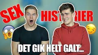 JERES VILDESTE S*X HISTORIER!? | Med Jeppe Ølgaard