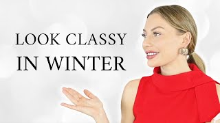 How to look CLASSY in winter - School Of Affluence