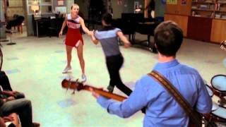 GLEE - Full Performance of Dance With Somebody (HD)