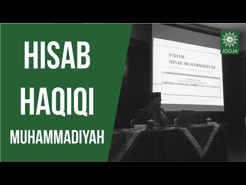 Pengajian Pimpinan : Hisab Haqiqi Muhammadiyah ~ Oman Fathurrahman