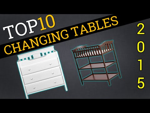 Top 10 Changing Tables 2015 | Best Changing Tables