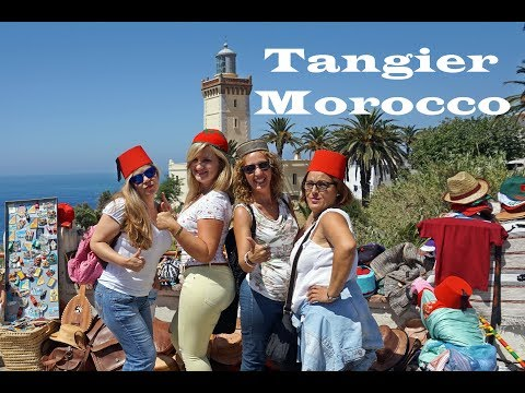 Four women in Tangier, Morocco!!