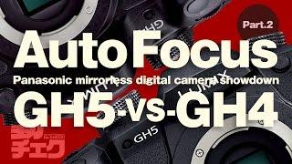 GH5とGH4に同じレンズをつけて、動画撮影中のAF性能を検証してみました...