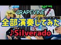 『Silverado 』from GRAPEVINE【バンドマン、全部演奏してみた。】