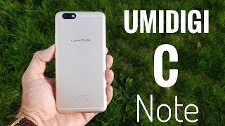 UMIDIGI C Note Smartphone REVIEW – An affordable good looking phone!