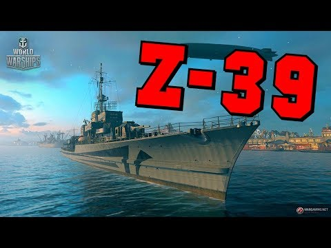 Z39 || Type 1936A || World of Warships