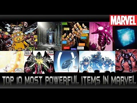 10อันดับไอเทมเทพและเกรียนมาเวล[Top 10 Most Powerful Items in Marvel ]comic world daily