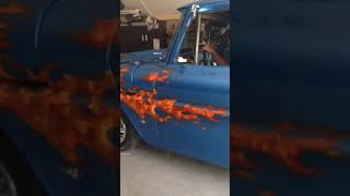 64' chevy pick up truck with a 454 big block