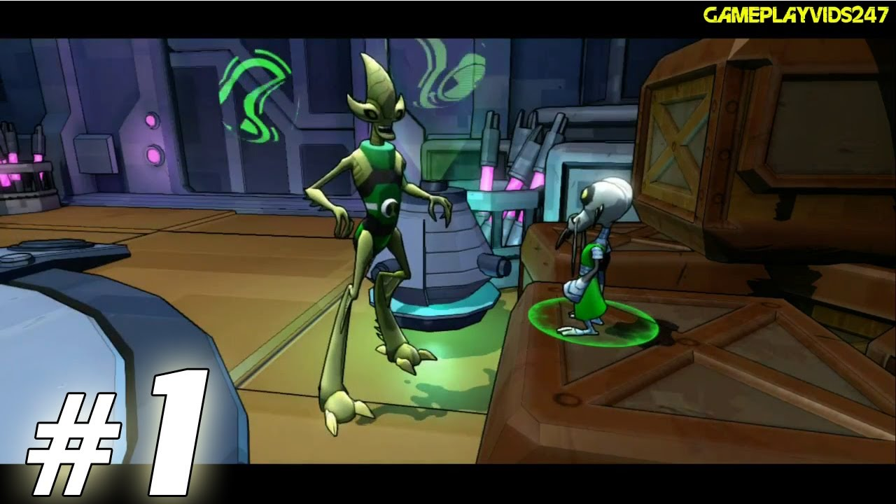 Ben 10 Omniverse 2 Walkthrough Guide Part 1 Xbox 360 Gameplay