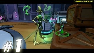 Ben 10 Omniverse 2 Walkthrough Guide Part 1 Xbox 360 Gameplay Youtube