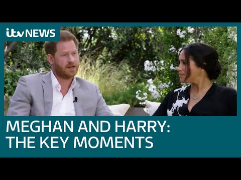 Five key moments from the Harry and Meghan interview with Oprah   ITV News