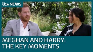 Five key moments from the Harry and Meghan interview with Oprah | ITV News