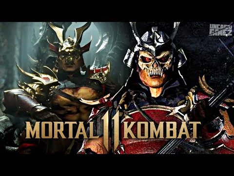 Mortal Kombat 11: NEW SHAO KAHN Skin/Gear Revealed!!