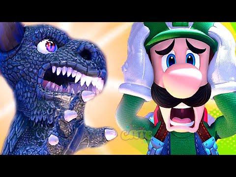 СУПЕР МАРИО ЛУИДЖИ МЕНШН #12 мультик игра для детей Детский летсплей на СПТВ Luigi Mansion 3 Boss