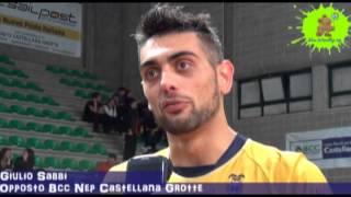 24-03-2013: Intervista a Giulio Sabbi nel post NewMater-Vibo 1-3