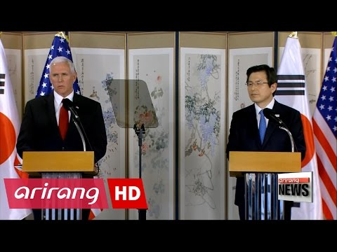 U.S. Vice President warns N. Korea not to test Trump