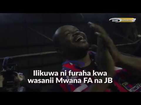 Wasanii JB na Mwana FA nchini Hispania waliposhuhudia LIVE game ya Barcelona na Levante