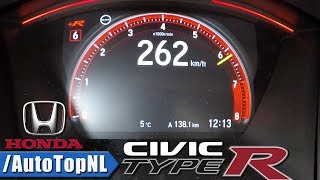 Honda Civic Type R 2018 Acceleration & Speed 0-262km/H By Autotopnl