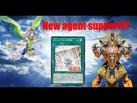 Yu-Gi-Oh! New Sanctuary of Parshath in Agents?!