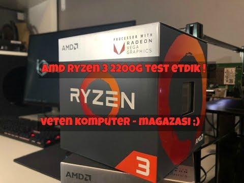 VƏTƏN KOMPÜTER - 5# Amd Ryzen 3 2200G-ni Test Etdik !