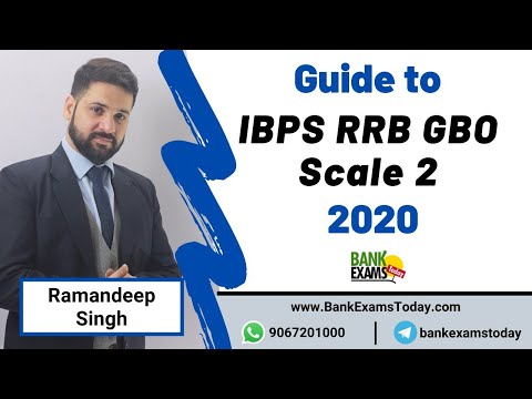 IBPS RRB GBO 2020 Exam Date Released