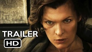 Download Video Resident Evil: The Final Chapter Official Trailer #1 (2017) Milla Jovovich Movie HD MP3 3GP MP4