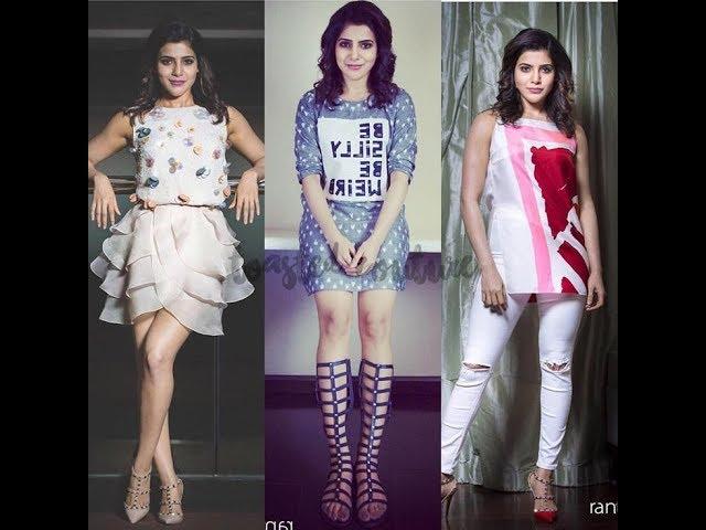 Samantha Akkineni in western wear|| Latest Fashion Trends || Fashion Pori