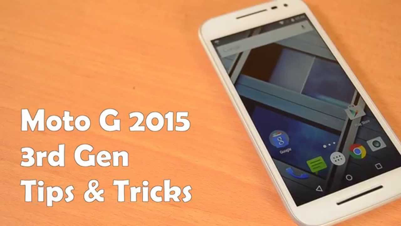 10 Tips and Tricks on Moto G 3rd Gen 2015!