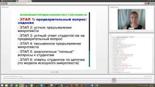 Грамматика на уроке РКИ: вид русского глагола