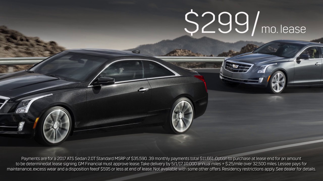 ats bmw down awesome v deal smacks the cadillac this lease with