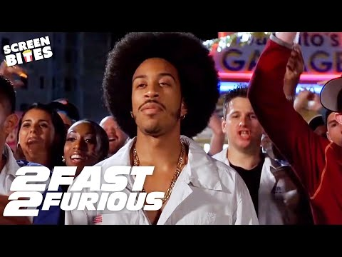 Most Epic Bridge Jump Scene | 2 Fast 2 Furious | SceneScreen