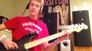 Zebrahead the real me bass guitar cover