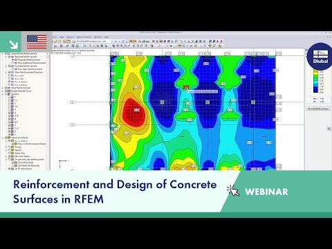 Dlubal Webinar: Reinforcement and Design of Concrete Surface