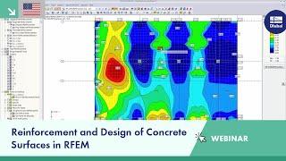 Dlubal Webinar: Reinforcement and Design of Concrete Surfaces in RFEM