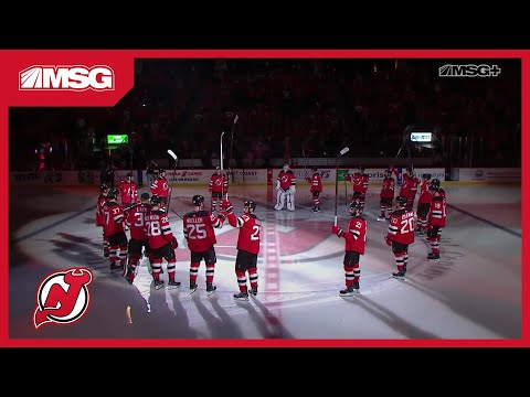 Devils Opening Night Introductions | New Jersey Devils | MSG Networks