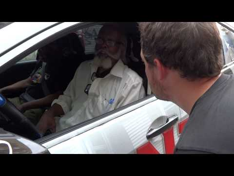 "Meeting ""The Rent is Too Damn High"" Jimmy McMillan in the East Village NYC"